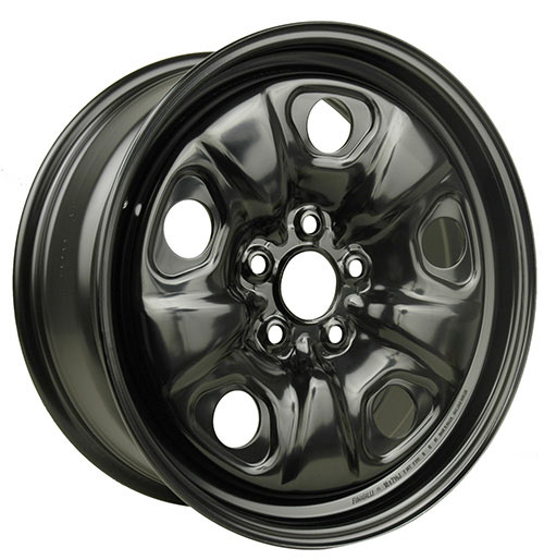 Macpek - RSSW - Steel Wheels - Black
