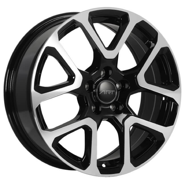 Art Replica Wheels - Replica 127 - Noir Lustre Machine