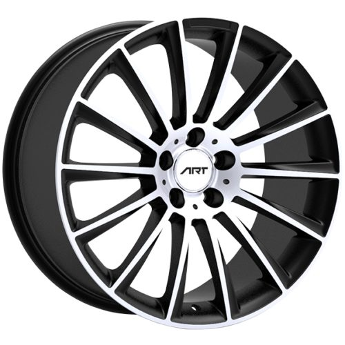 Art Replica Wheels - Replica 194 - Noir Lustre Rebord Machine