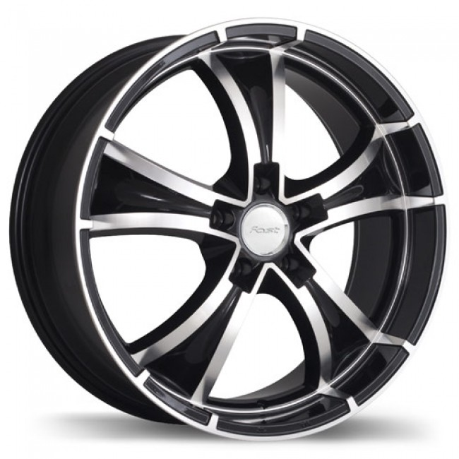 roue Fastwheels Raven, noir machine