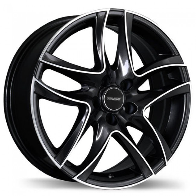 roue Fastwheels Spider, noir machine