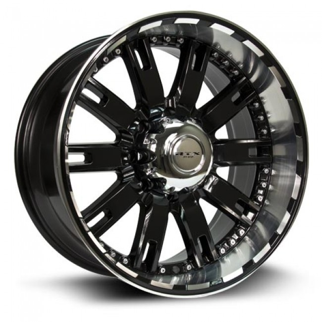 roue RTX Wheels Brute, noir machine