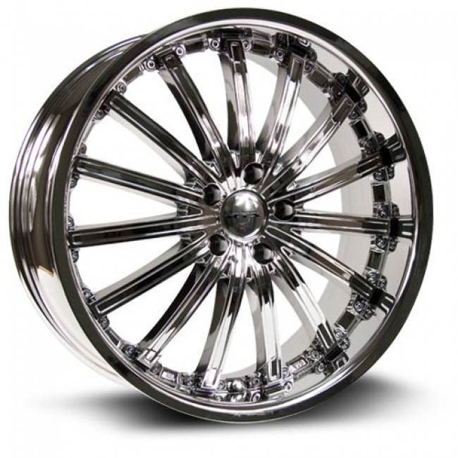 roue RTX Wheels Elite, chrome plaque