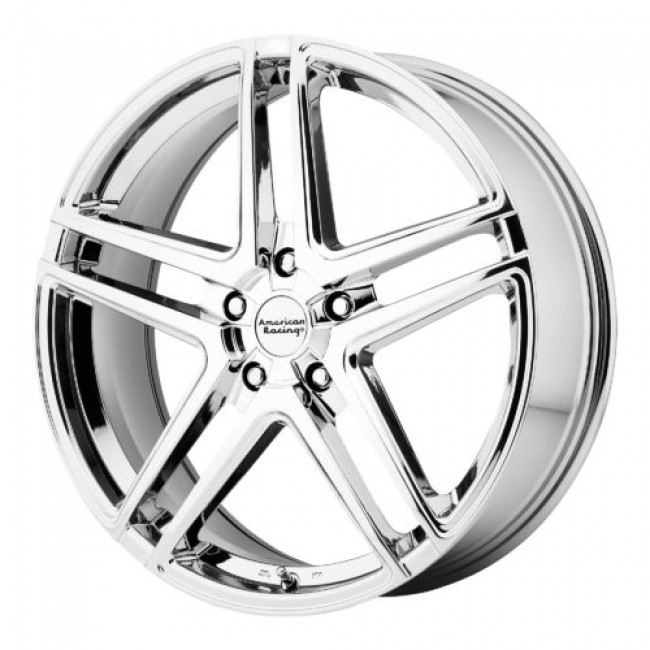 Roue American Racing AR907, chrome