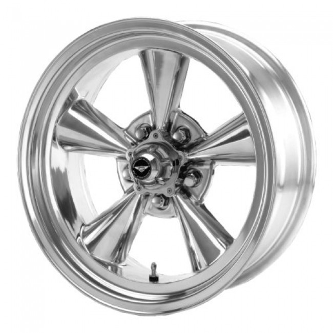 Roue American Racing VN109 TT O, argent polie