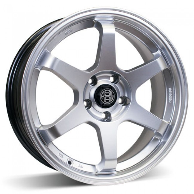roue RSSW Rival, argent ultra