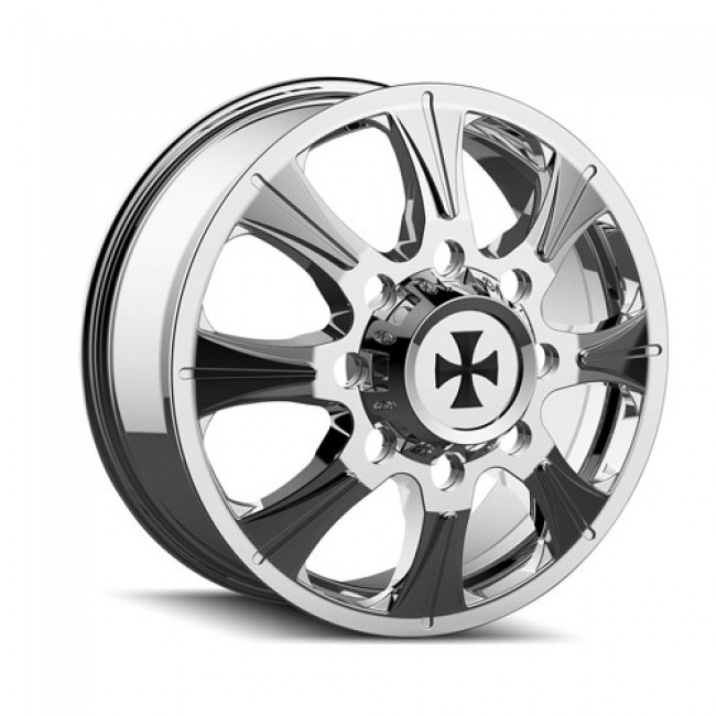 Calioffroad 9105 Brutal Chrome / Chrome, 20X8.25, 8x165.1 ,(déport/offset 127 ) 116.7