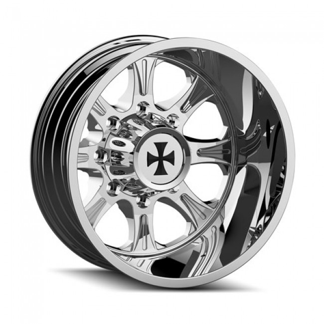 Calioffroad 9105 Brutal Chrome / Chrome, 20X8.25, 8x170 ,(déport/offset -180 ) 124.9