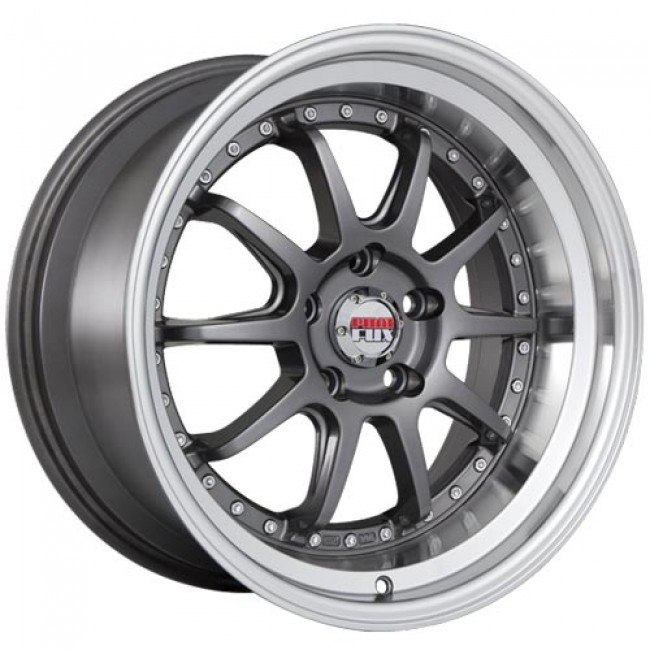roue Dai Alloys Baller, gris gunmetal machine