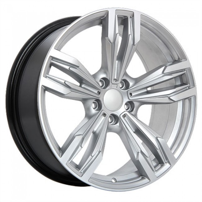 roue Dai Alloys Replica 17, argent ultra