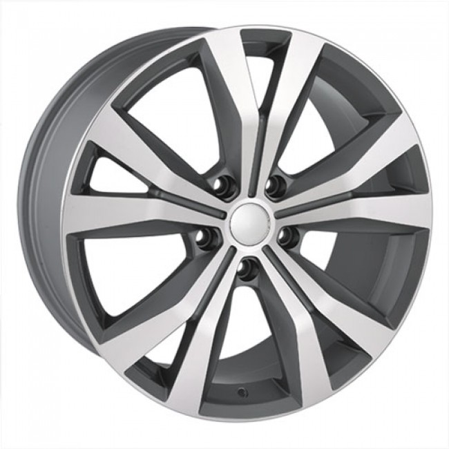 roue Dai Alloys Replica 41, gris gunmetal machine
