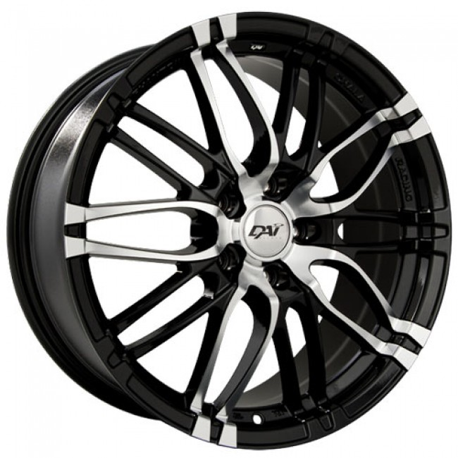 roue Dai Alloys Yakuza, noir lustre machine