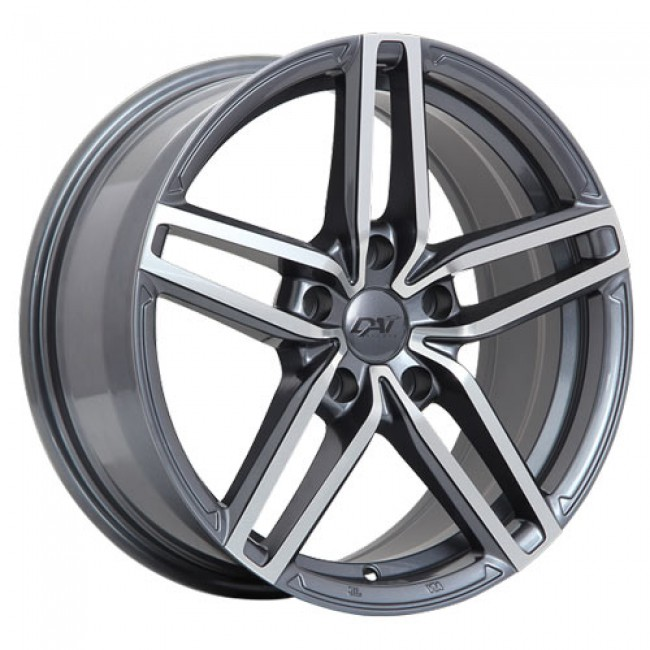 roue Dai Alloys Evo, gris gunmetal machine