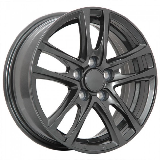 Dai Alloys OEM Graphite/Graphite, 15X6.5, 4x100 ,(déport/offset42 )54.1
