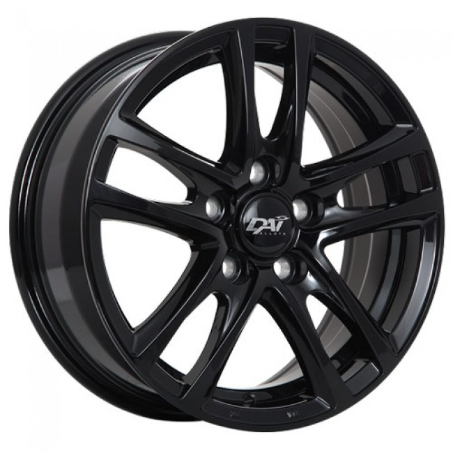 Dai Alloys OEM Gloss Black/Noir lustré, 17X7.0, 5x114.3 ,(déport/offset45 )73.1