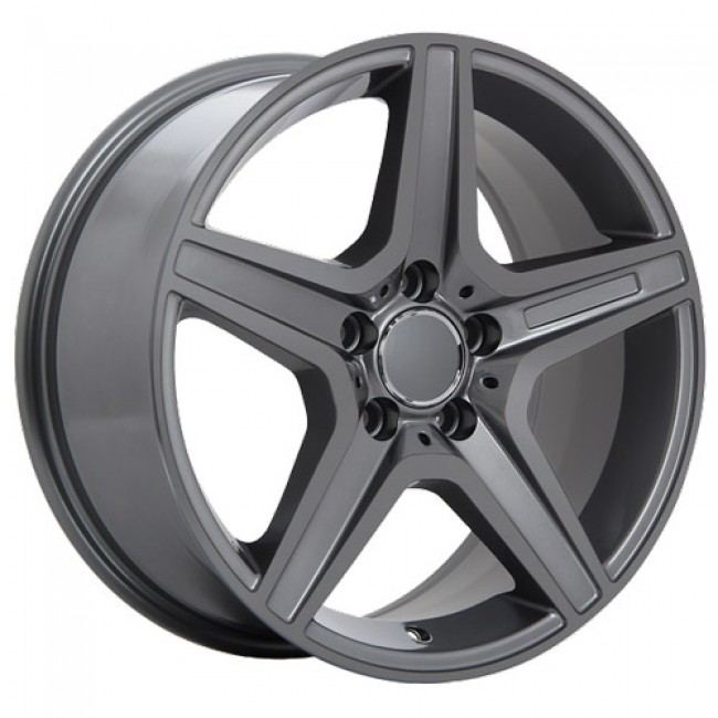 roue Art Replica Wheels Replica 21, gris gunmetal
