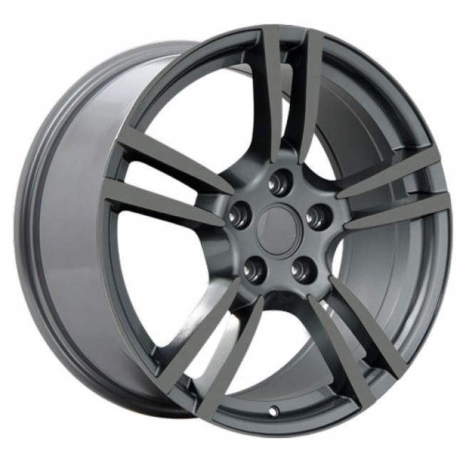 roue Art Replica Wheels Replica 25, gris gunmetal