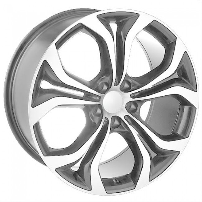 roue Art Replica Wheels Replica 32, gris gunmetal machine