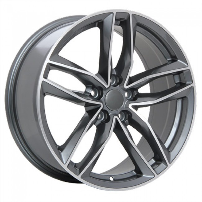roue Art Replica Wheels Replica 36, gris gunmetal machine