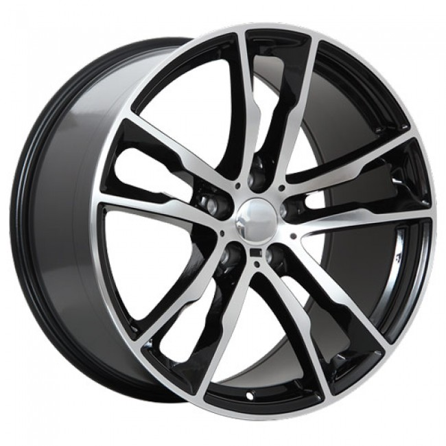 Art Replica Wheels R64 Gloss Black - Machined Face/Noir lustré - Façade machinée, 20X11.0, 5x120 ,(déport/offset37 )74.1 BMW