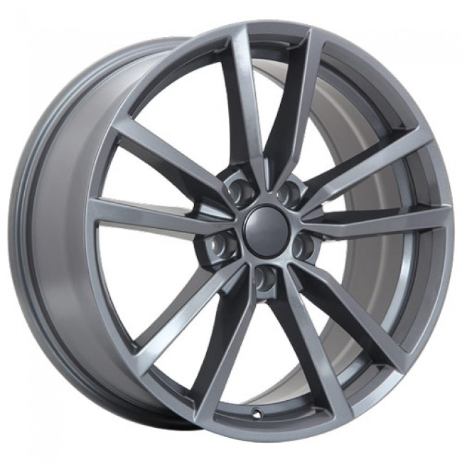roue Art Replica Wheels R75, gris gunmetal