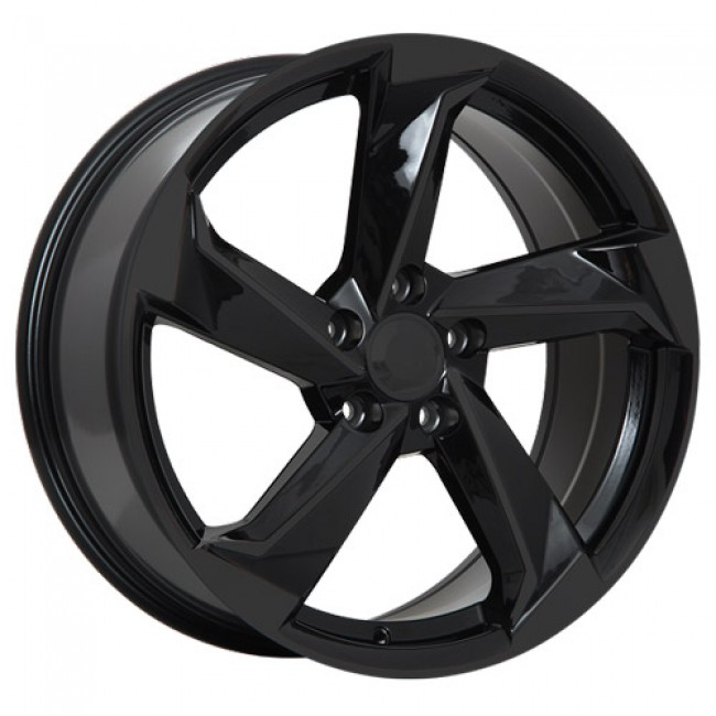 Art Replica Wheels Replica 90 Gloss Black/Noir lustré, 18X8.0, 5x112 ,(déport/offset35 )66.5
