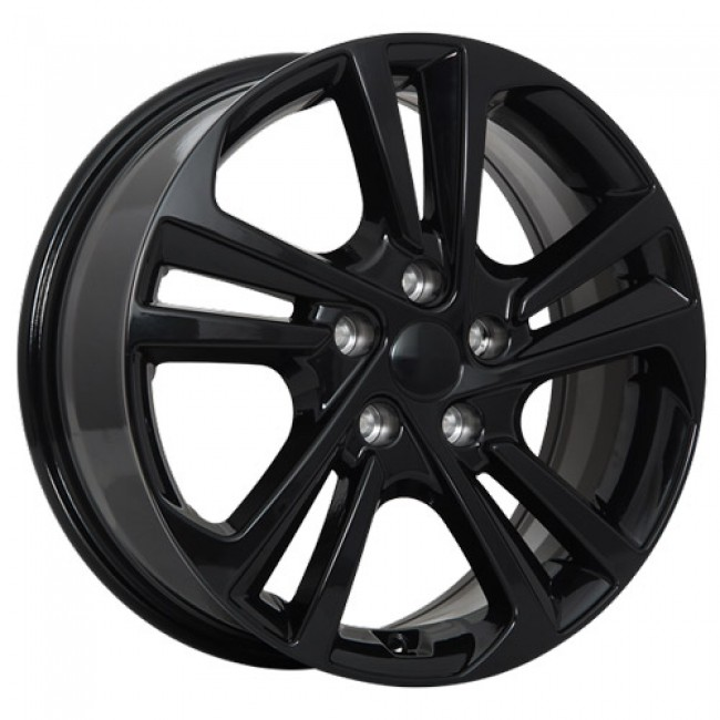Art Replica Wheels Replica 96 Gloss Black/Noir lustré, 16X6.5, 5x114.3 ,(déport/offset45 )67.1