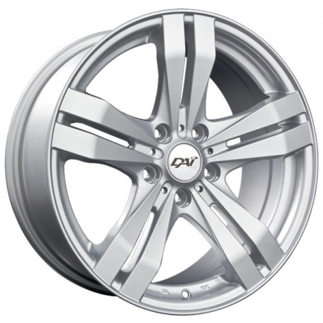 roue Dai Alloys Target, argent