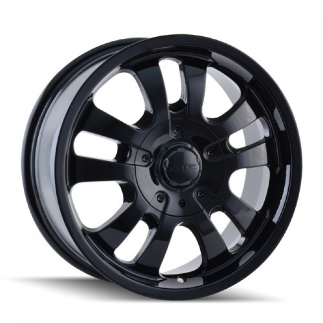 Dip D10 Black / Noir, 18X8.5, 6x132/132 ,(déport/offset 30 ) 78