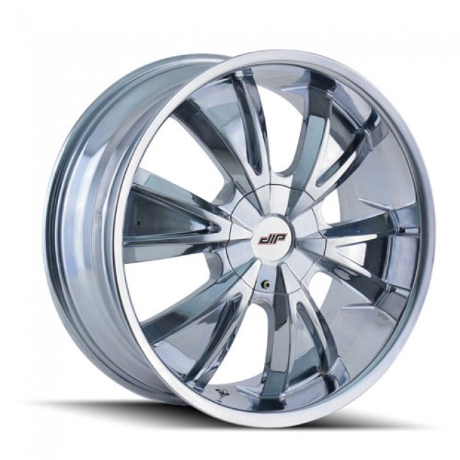 Dip D38 Vibe Chrome / Chrome, 20X8.5, 5x108/114.3 ,(déport/offset 35 ) 72.56