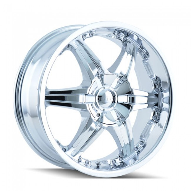 Dip D39 Wicked Chrome / Chrome, 22X9.5, 5x115/139.7 ,(déport/offset 18 ) 87