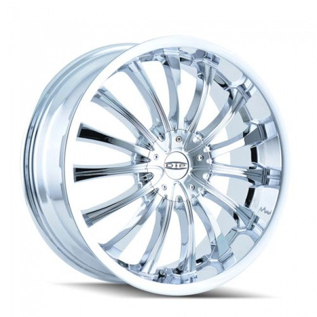 Dip D50 Hype Chrome / Chrome, 22X8.5, 5x114.3/120 ,(déport/offset 35 ) 72.62