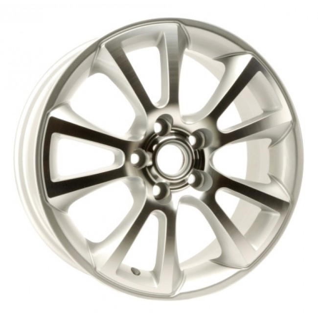 PMC OEM Replica Machined Silver / Argent Machine, 16X6.5, 5x105 ,(déport/offset 10 ) 56.5 Buick / Chevrolet