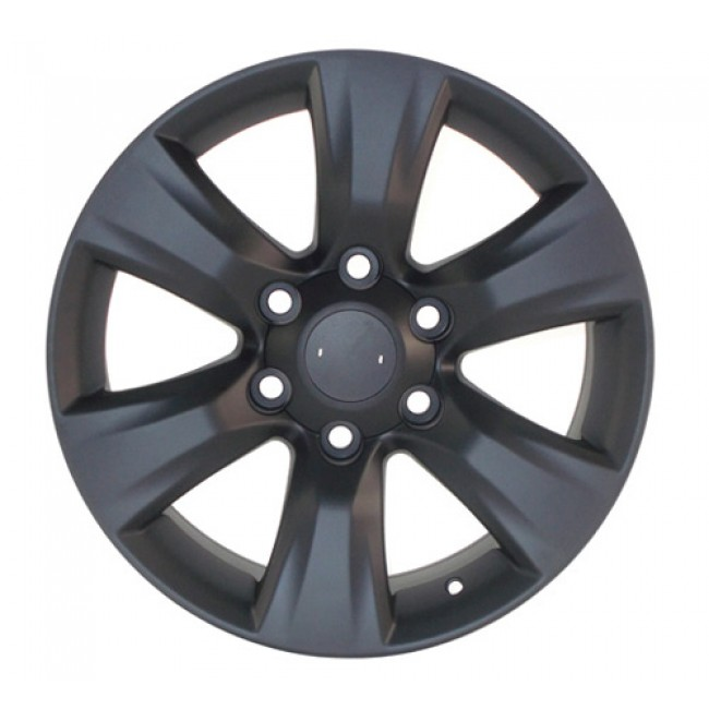 PMC OEM Replica Black / Noir, 16X7, 6x139.7 ,(déport/offset 39 ) 106 Lexus