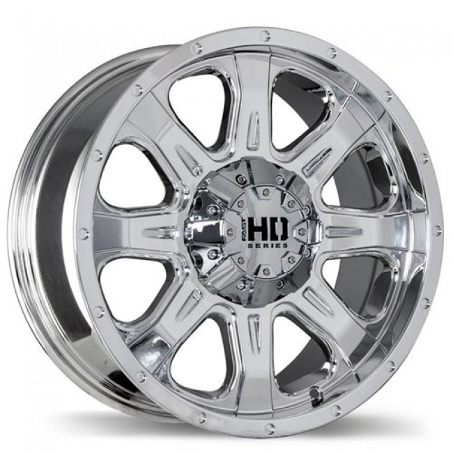 Fastwheels C4 Light Vapour Chrome/Chrome vaporisé, 18X9.0, 5x127, (offset/déport 20 ) 78.1