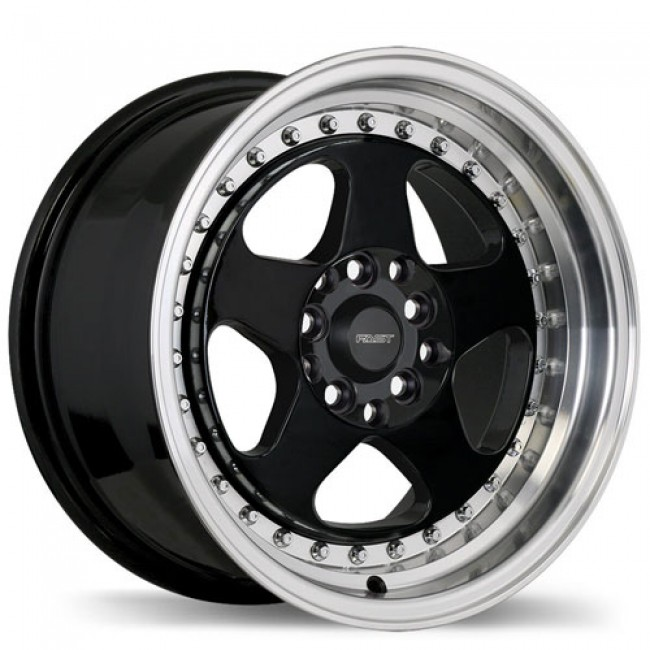 roue Fast Wheels Hippari, noir lustre machine