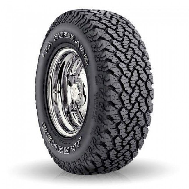 General Tire - Grabber AT2 - P225/70R15 100S OWL