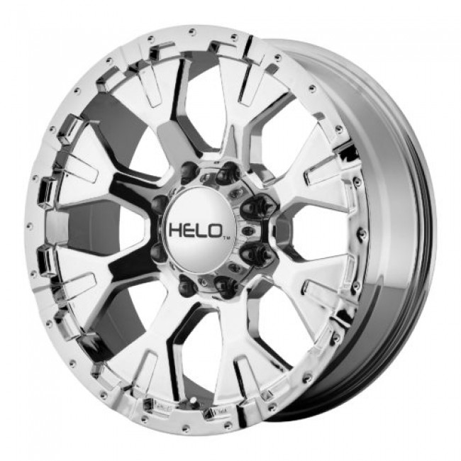 Roue Helo HE878, chrome