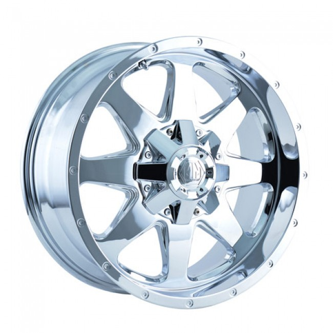 Mayhem 8040 Tank Chrome / Chrome, 18X9, 5x127/139.7 ,(déport/offset -12 ) 87