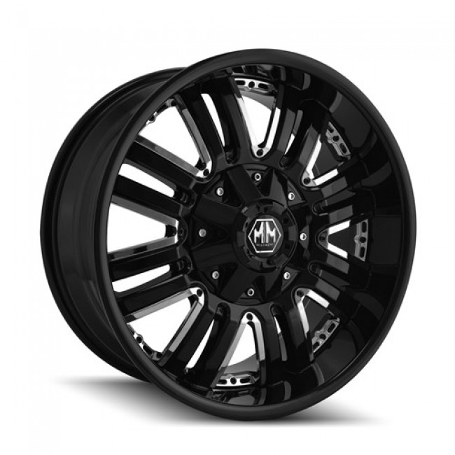 roue Mayhem 8070 Assault, noir