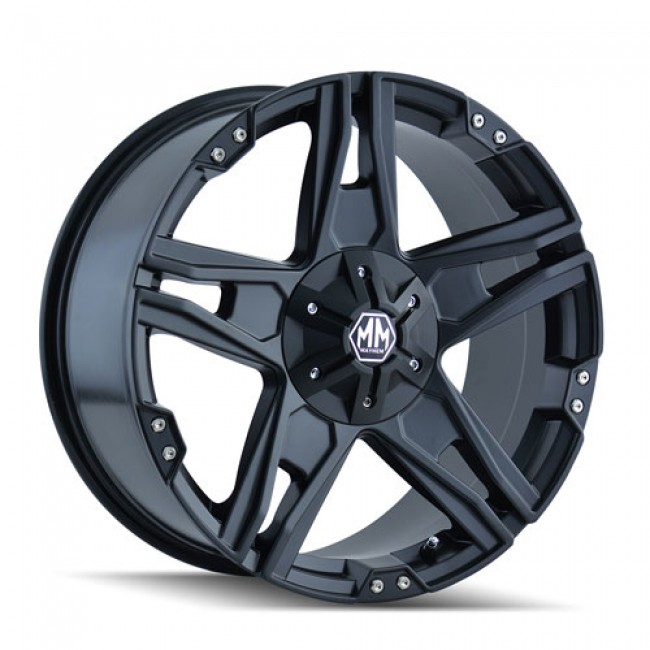 Mayhem 8080 Patriot Matte Black / Noir Mat, 20X9, 6x135/139.7 ,(déport/offset -12 ) 108
