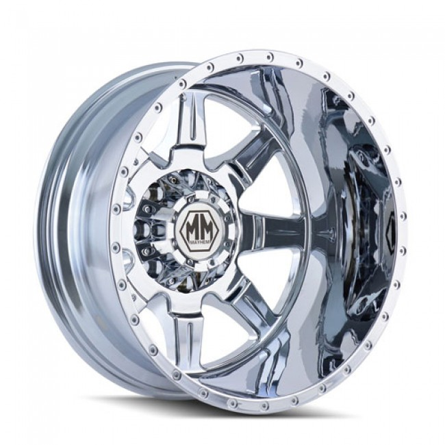Roue Mayhem MONSTIR, chrome