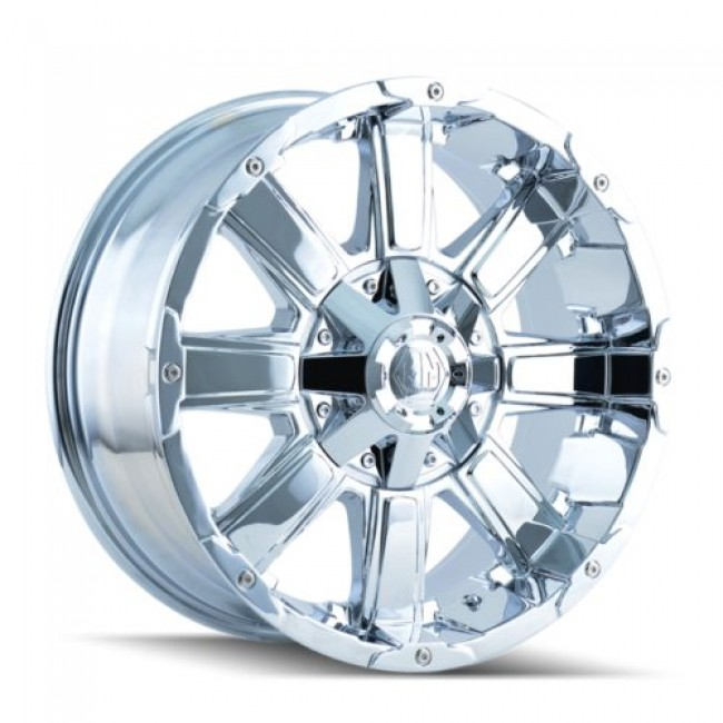 Roue Mayhem CHAOS, chrome