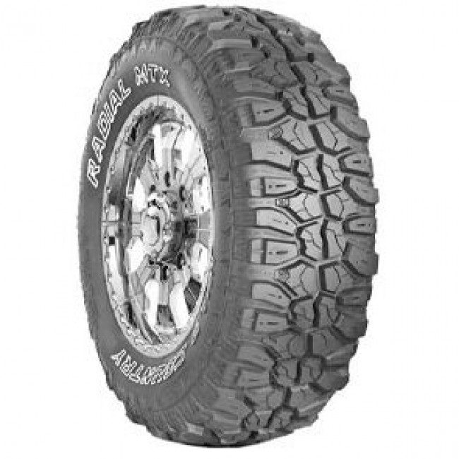 Multi-Mile - Wild Country Radial MTX / Mudclaw Radial MT - 35/12.5R17 D Q OWL