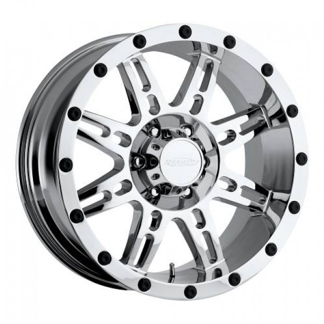 roue Pro Comp  Series 31, chrome plaque
