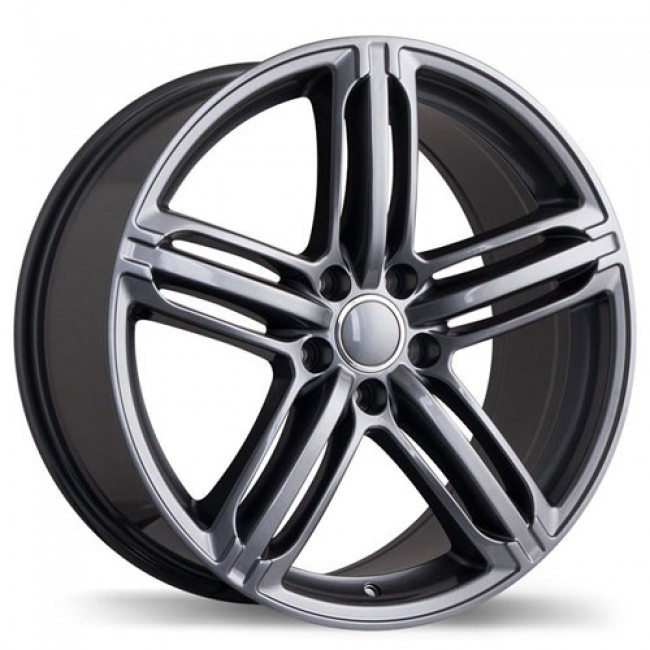 roue Replika Wheels R133A, gris gunmetal