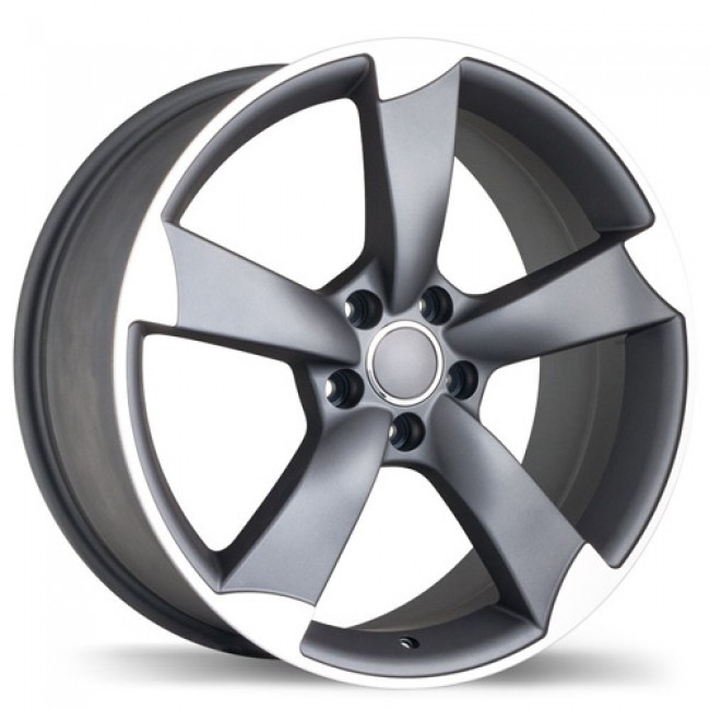 roue Replika R134A, gris gunmetal machine