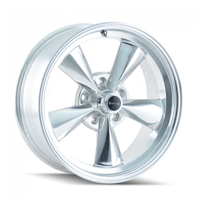 roue Ridler 675, argent polie