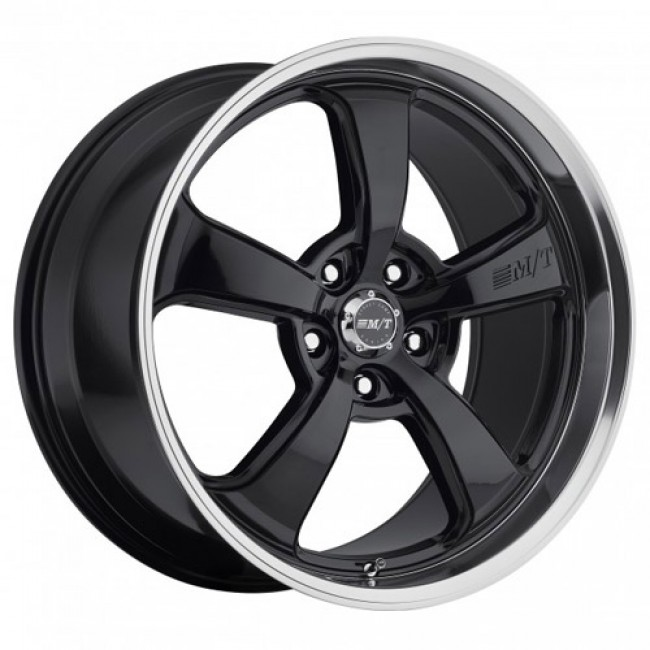 roue Mickey Thompson MT SC-5 Black, noir rebord machine