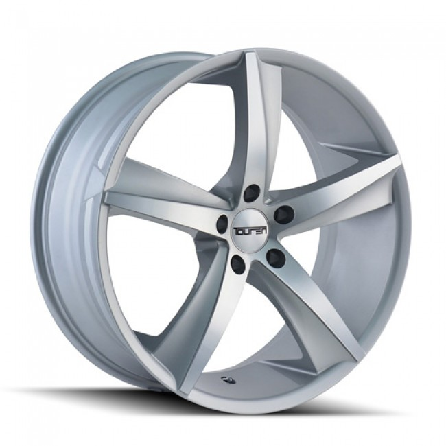Touren TR72 Machiné Silver / Argent Machiné, 20X10, 5x112 ,(déport/offset 40 ) 66.56